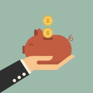 billede af spar penge i hverdagen